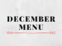 December Menu